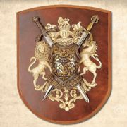 Richard The Lionheart & El Cid Mini 2 Sword Wall Plaque